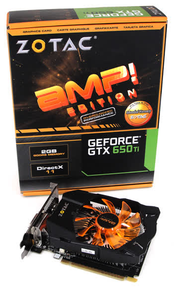 Zotac GeForce GTX 650 Ti AMP! Edition 2GB GDDR5 PCIe ZT-61103-10M