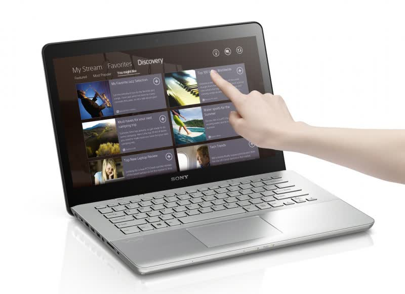 Sony Vaio Fit 15E SVF-1521 Series
