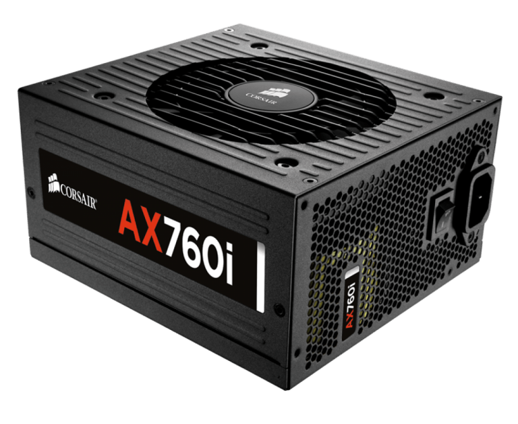 Corsair AX760i Digital ATX Power Supply 760W