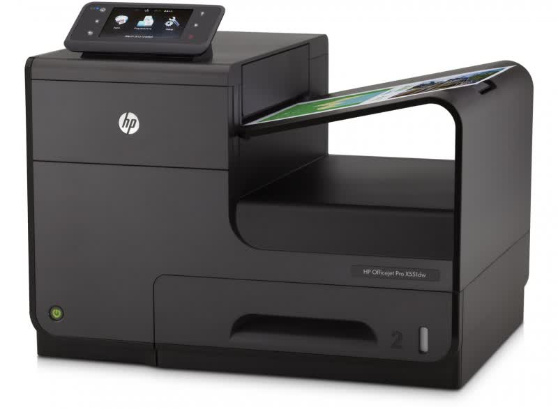 HP Officejet Pro X551 Series