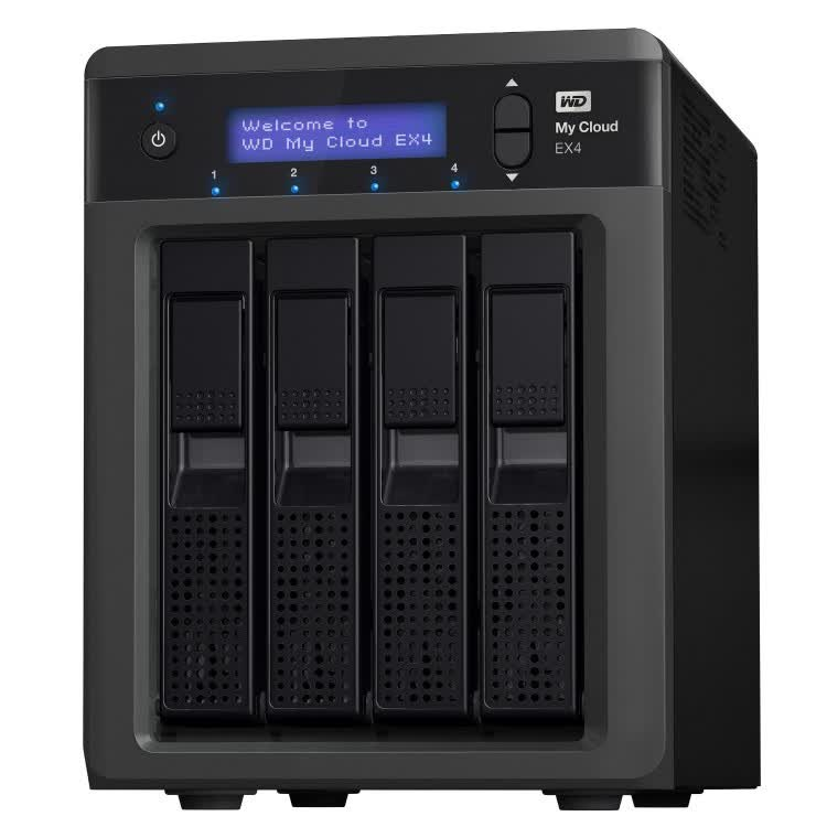 Western Digital My Cloud EX4 USB3