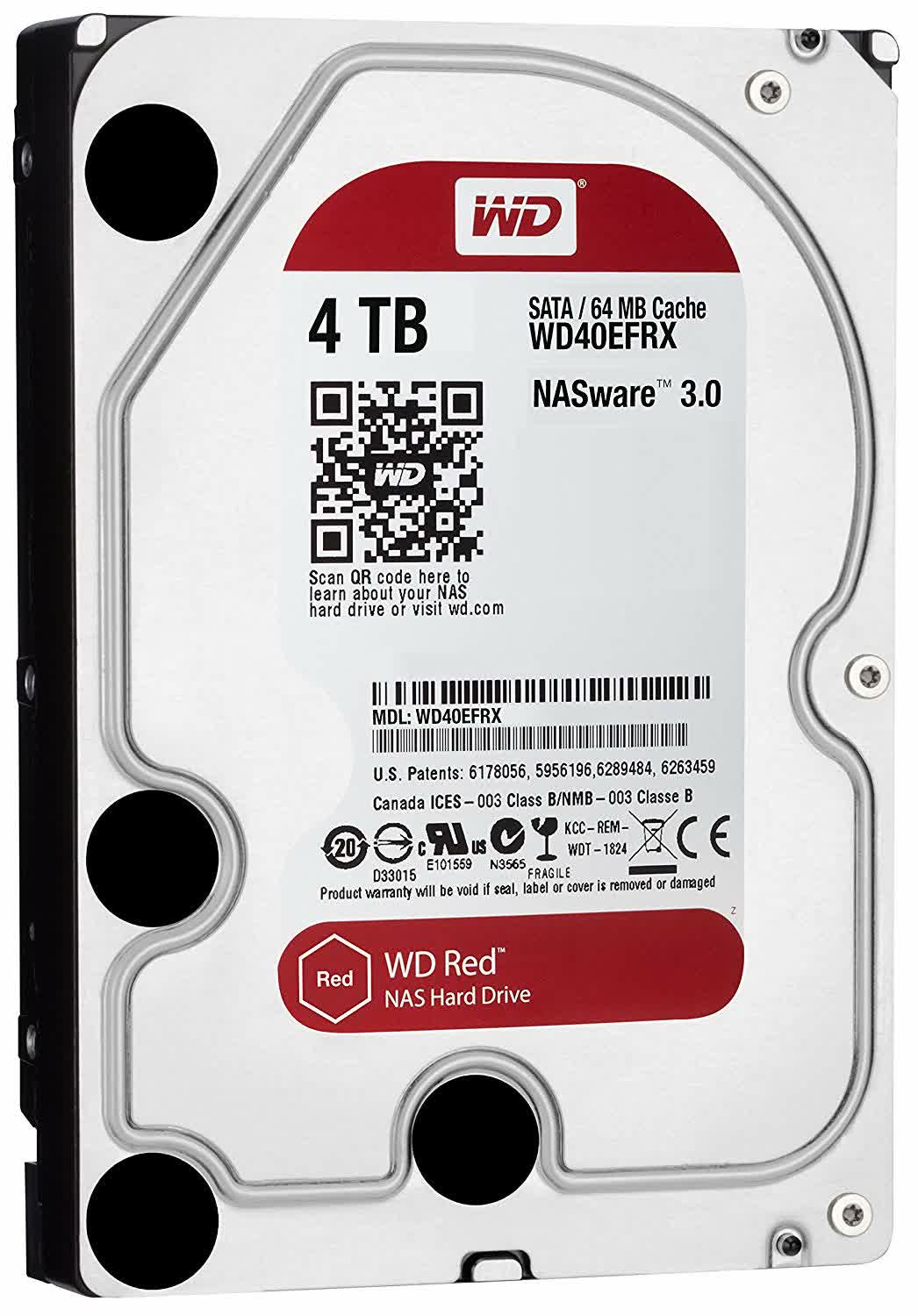 WD Red HDD SATA 600