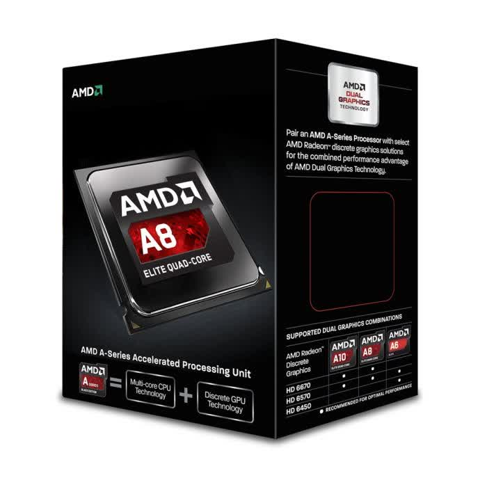 AMD A8-6600K 3.9GHz Socket FM2