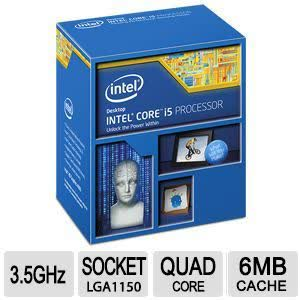 Intel Core i5 4690K 3.5GHz Socket 1150