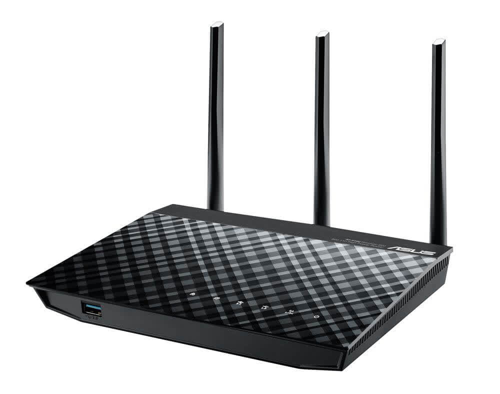 Asus RT-N18U 2.4 GHz 600 Mbps High Power Router