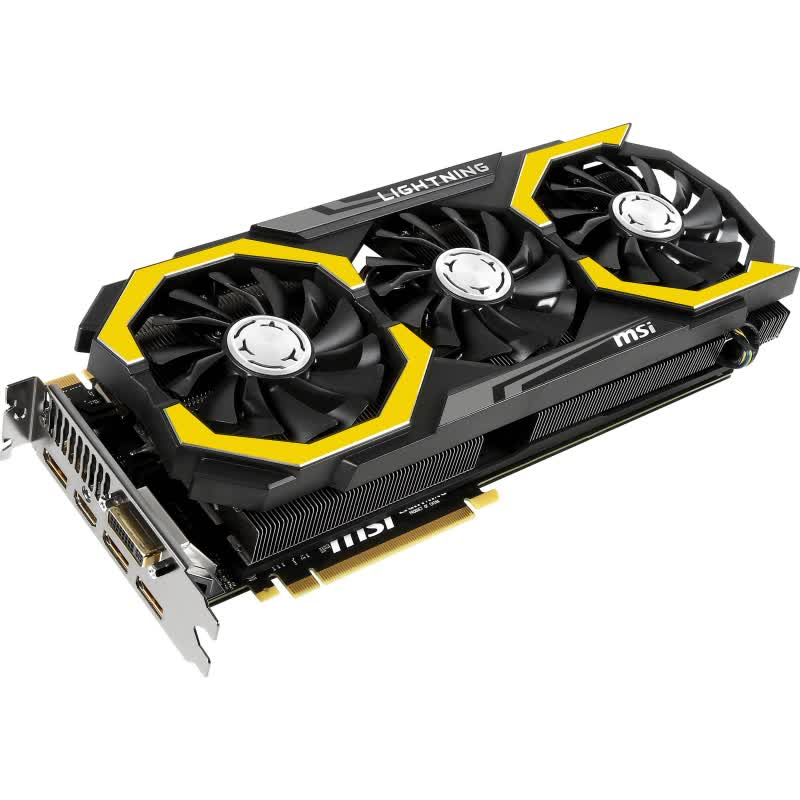 MSI GeForce GTX 980 Ti Lightning 6GB GDDR5 PCIe