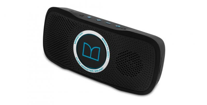 Monster SuperStar BackFloat portable speaker