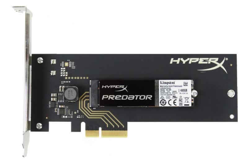 Kingston M.2 2280 HyperX Predator Series PCIe