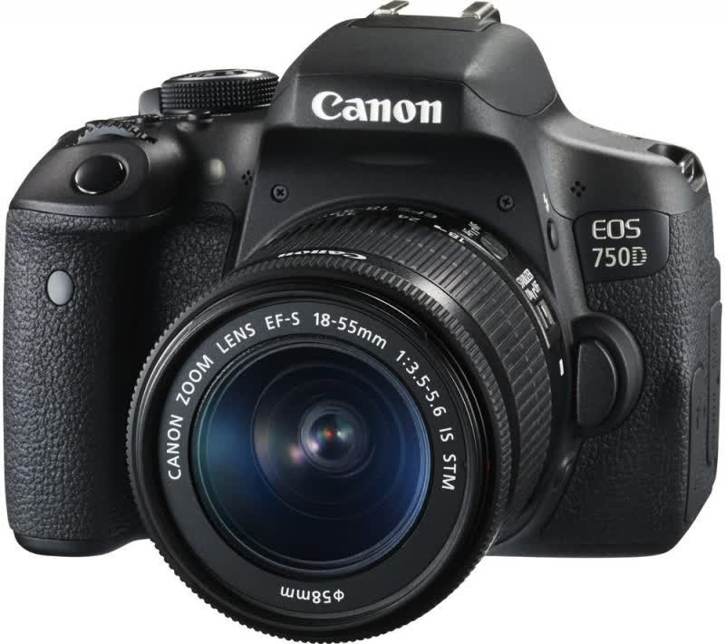 Canon EOS 750D Digital Rebel T6i