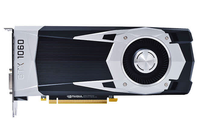 NVIDIA GEFORCE GTX 1060 FOUNDERS EDITION 6GB GDDR5
