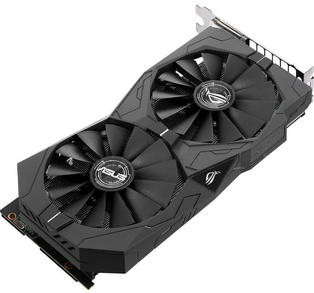 Asus GeForce GTX 1050 Ti OC Strix 4GB GDDR5 PCIe
