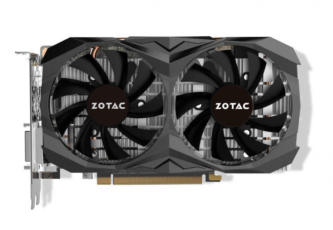 Zotac GeForce GTX 1060 AMP! Edition 6GB GDDR5 PCIe ZT-P10600B-10M