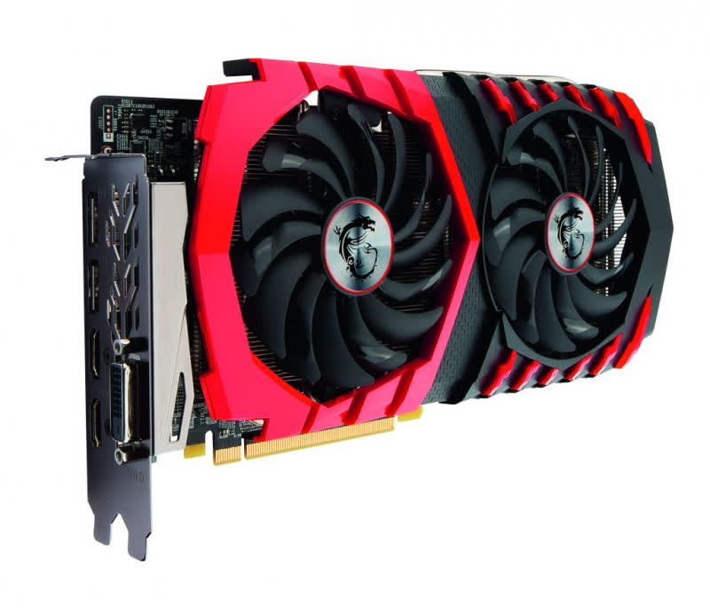 MSI Radeon RX 470 Gaming X 4GB GDDR5 PCIe
