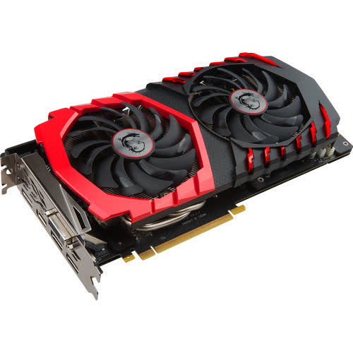 MSI GeForce GTX 1060 Gaming X 3GB PCIe