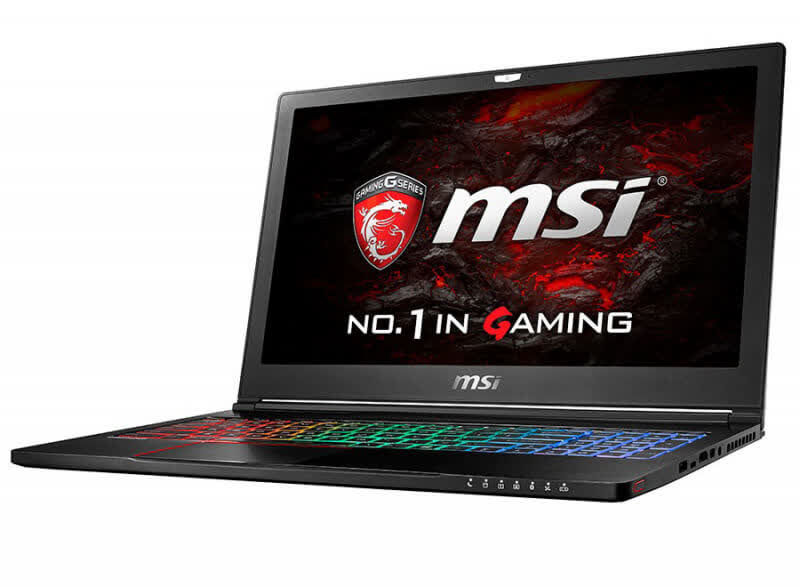 MSI Gaming GS63VR Stealth Pro