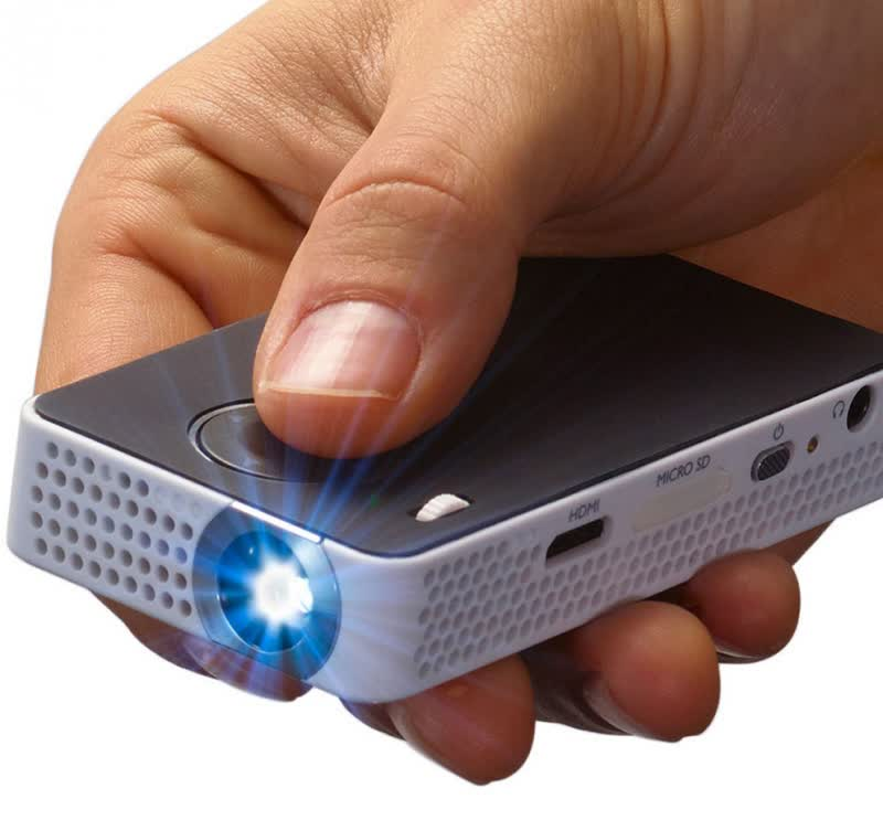 Philips Pocket Projector PPX4350