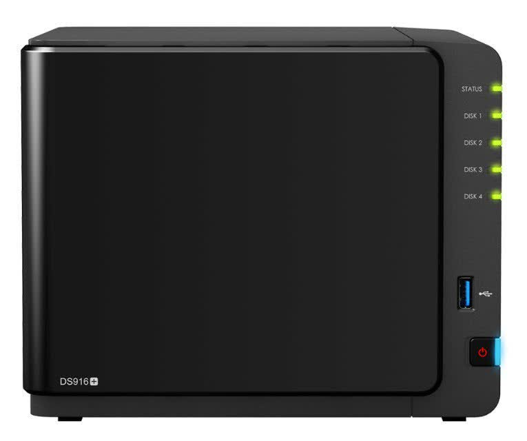 Synology DiskStation DS916+ 4-bay USB3/eSATA