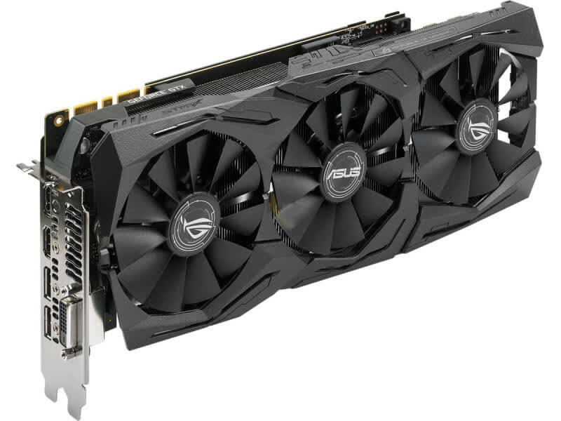 Asus GeForce GTX 1080 Ti Strix OC 11GB GDDR5 PCIe