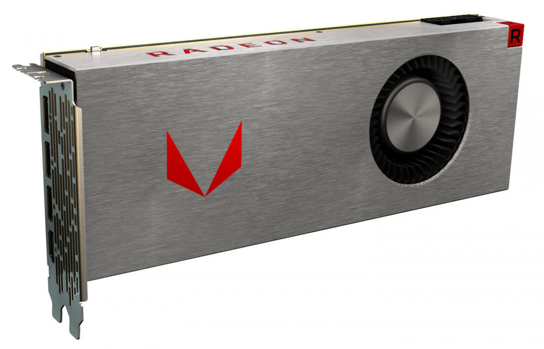 AMD Radeon RX Vega 64 Liquid Cooled 8GB