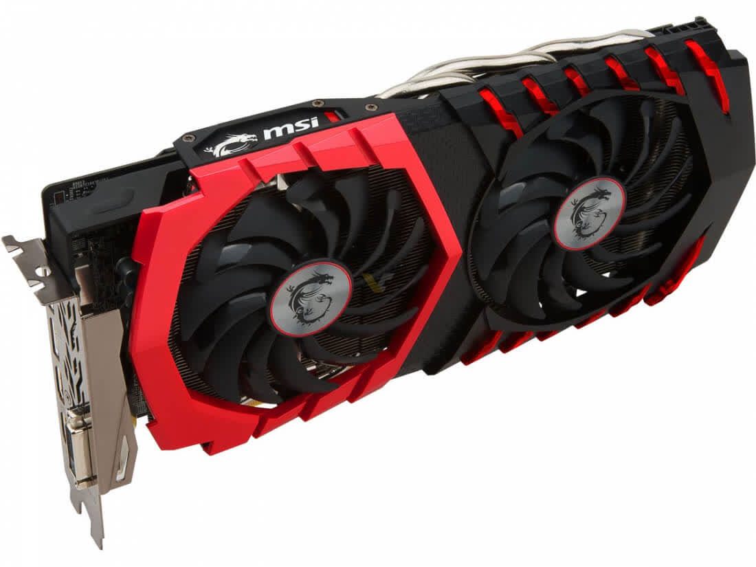 MSI Radeon RX 580 Gaming X 8GB GDDR5 PCIe