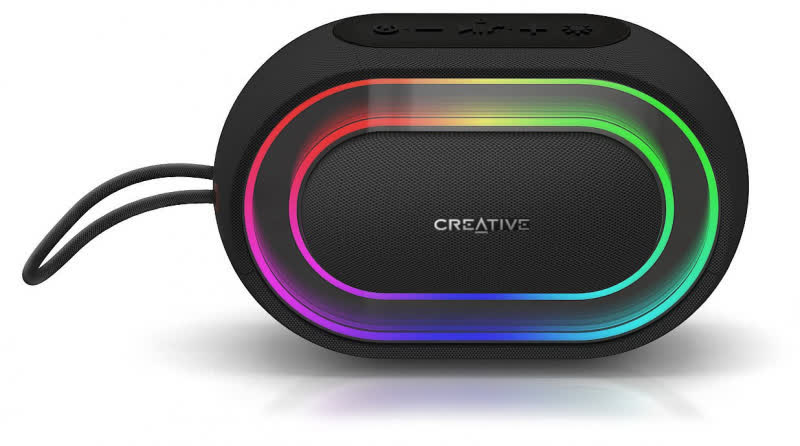 Creative Halo Bluetooth Portable Speaker