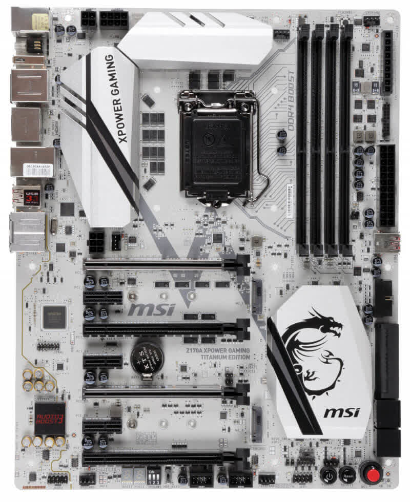 MSI X370 XPower Gaming Titanium Edition