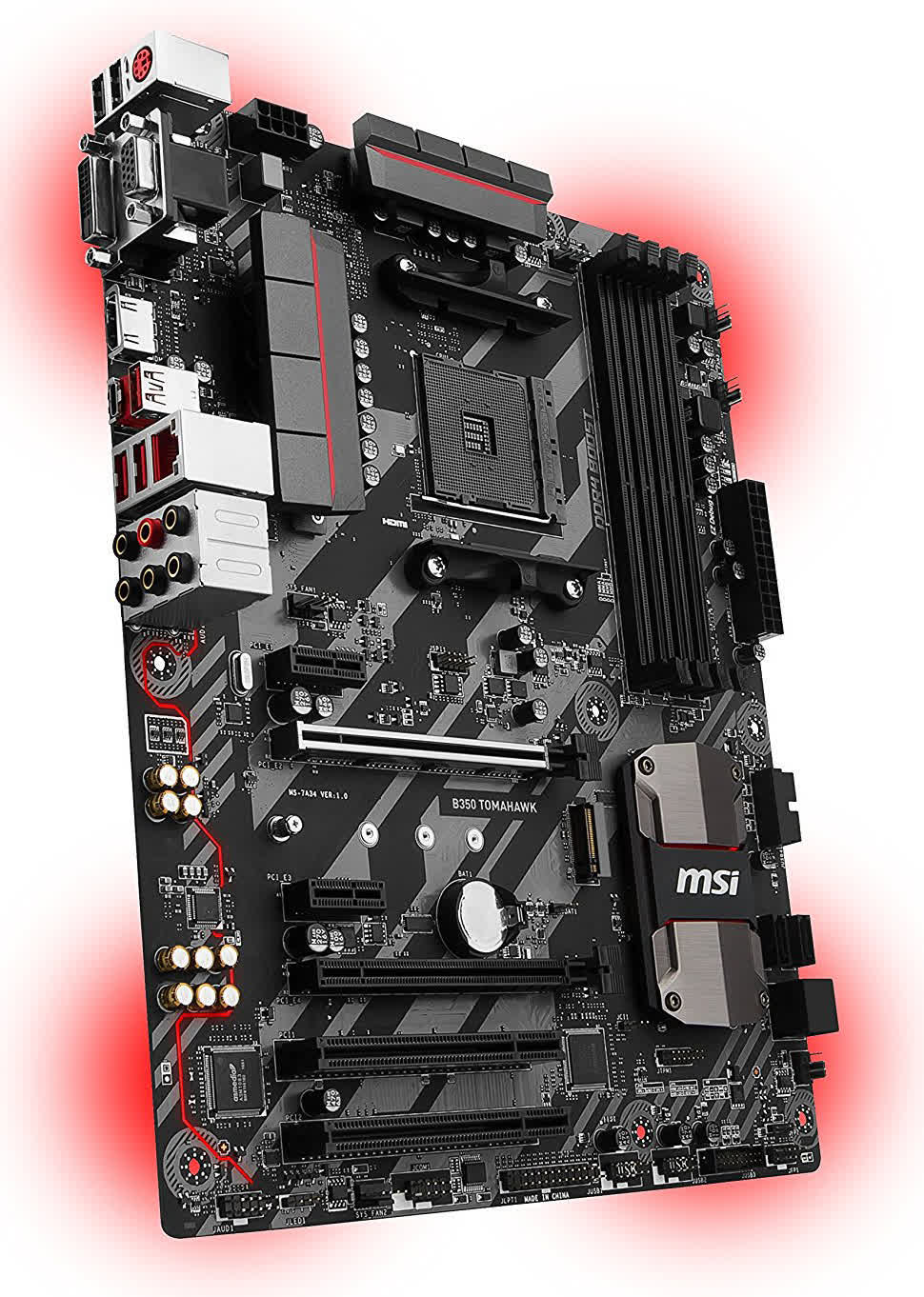 msi b350 tomahawk am4 drivers