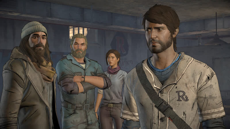 The Walking Dead: A New Frontier - Above The Law