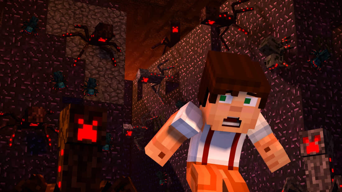 Minecraft: Story Mode - Season Two: Jailhouse Block