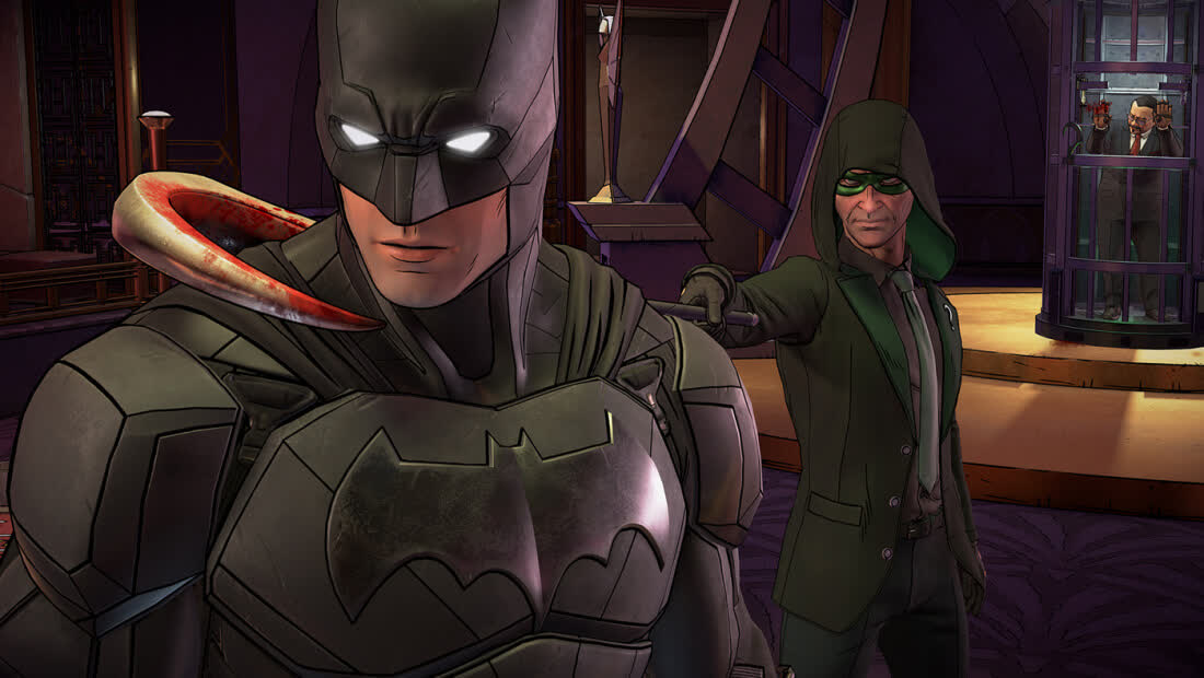 Batman: The Enemy Within - The Telltale Series - Episode 2: The Pact