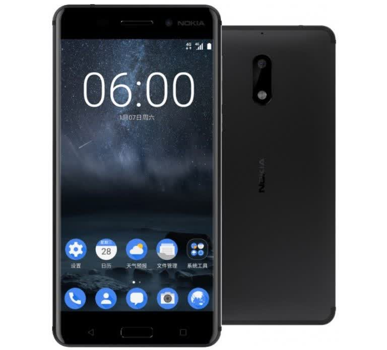 Image result for Nokia 6 (2017)
