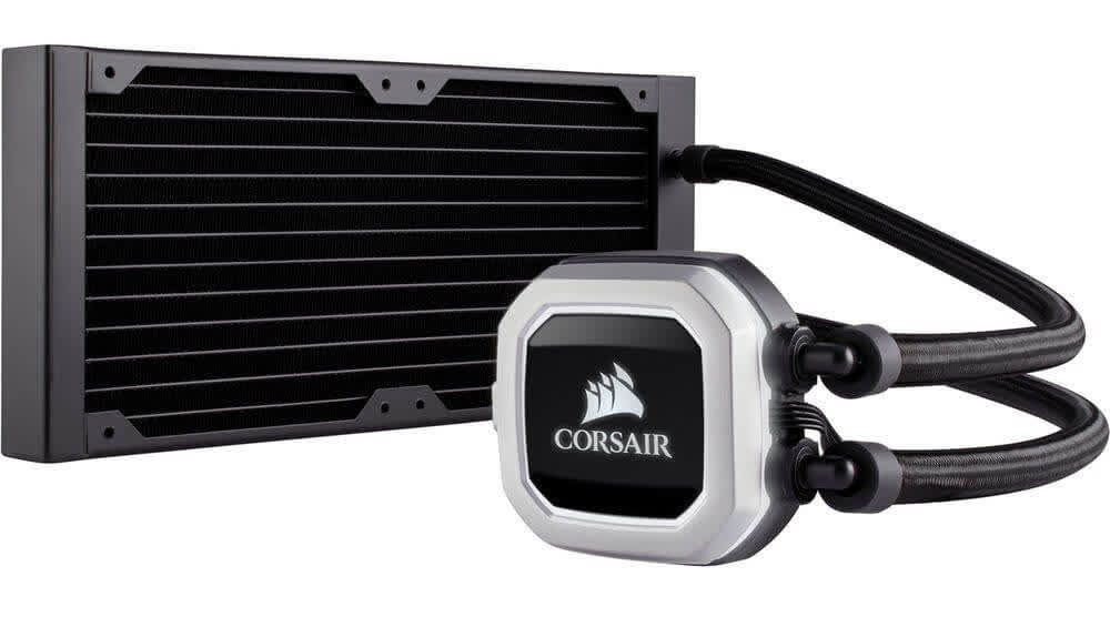 Corsair Hydro H100i Pro water cooling kit