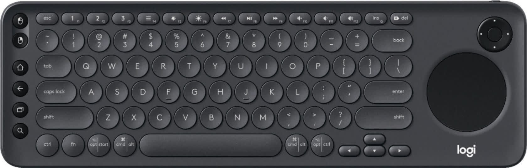 Logitech K600 TV Keyboard with Touchpad
