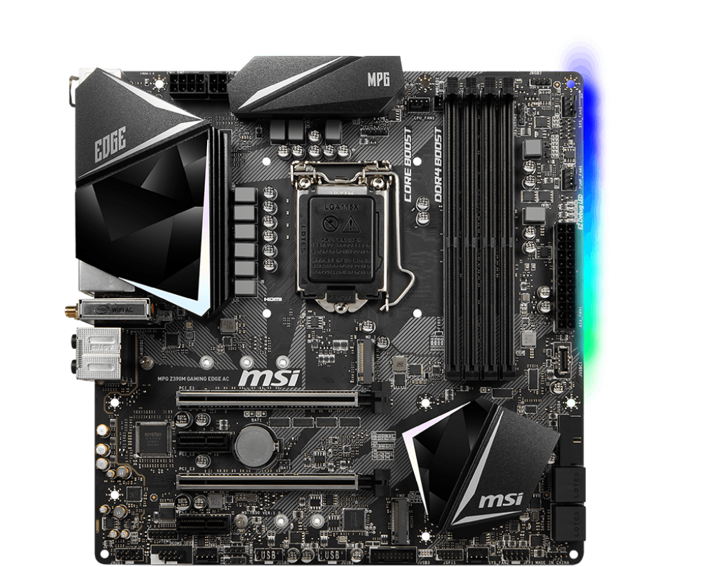 MSI Z390M MPG Gaming Edge AC