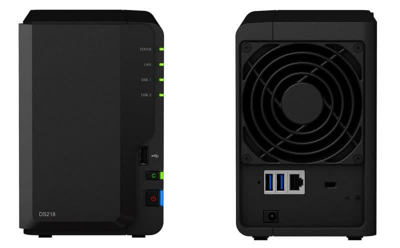 Synology DiskStation DS218 Play 2-bay USB3/eSATA