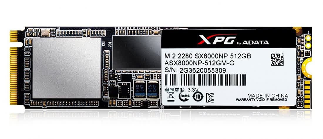 A-Data XPG M.2 2280 SX8200 Series SATA600