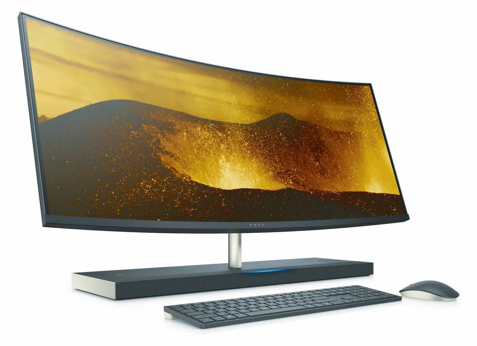 HP Envy Curved 34-B0xx Series All-in-One