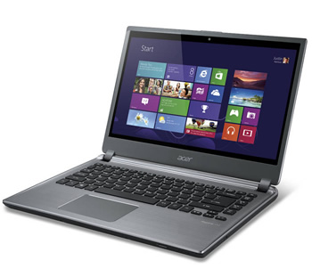 acer, windows, windows 8, ultrabook, touch screens, touchscreens, notebooks, announcements, m5-481pt, m5-581t, utlrabooks