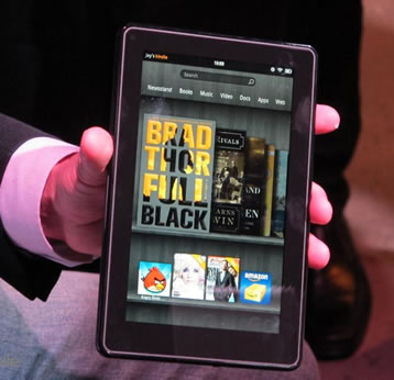 amazon, kindle fire, nook tablet, production, barnes noble