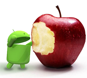 google, apple, android, ios, tablet, smartphone, market share