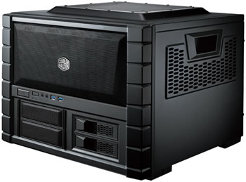 cooler master, small form factor, haf, compact case, lan party, haf xb, compact desktop