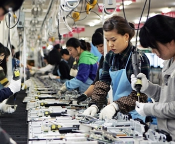 apple, foxconn, china, united states, us, asia, jobs, terry gou, made in the usa, assembled in usa, overseas, outsourcing, made in america, robots, automation, hon hai precision industry