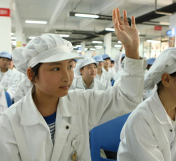 apple, foxconn, china, rights, child abuse, working conditions, child labor, worker abuse, underage workers, clw, china labor watch, industry news, labor la
