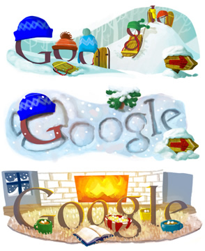 google, do a barrel roll, google easter, let it snow, winter, easter e