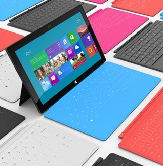 microsoft, pcs, tablet, windows 8, microsoft surface, windows rt, tablet sales, gta