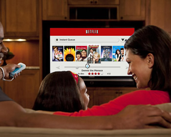 netflix, comcast, internet, isps, broadband, streaming, data cap, reed hastings, ubs, hbo go