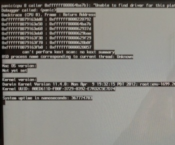 Thunderbolt 1 2 1 update resolves kernel panic issue for Mac