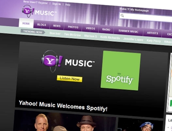 yahoo, spotify, music, streaming