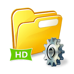 File Manager HD on Android