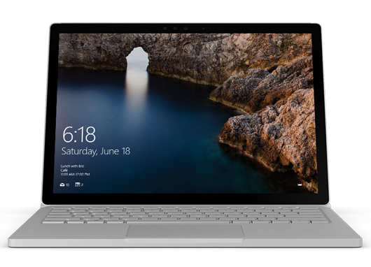 how to update surface book firmware